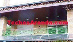 Techos aluminio alcala de henares