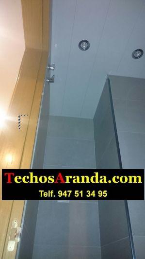 Fabricante de techos en aluminio para baños