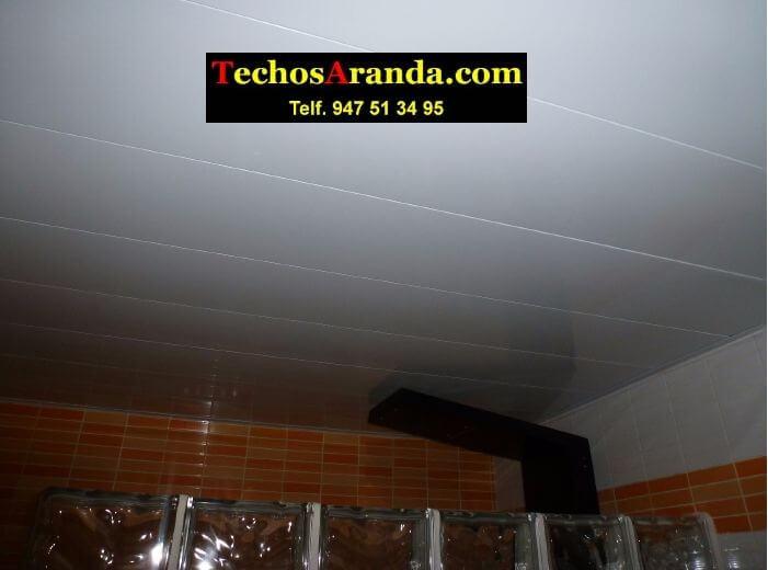 Falsos techos de aluminio para aseos en Madrid