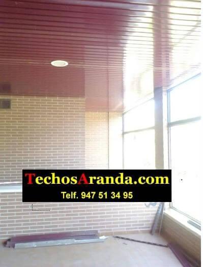 Falsos techos de aluminio para áticos en Madrid