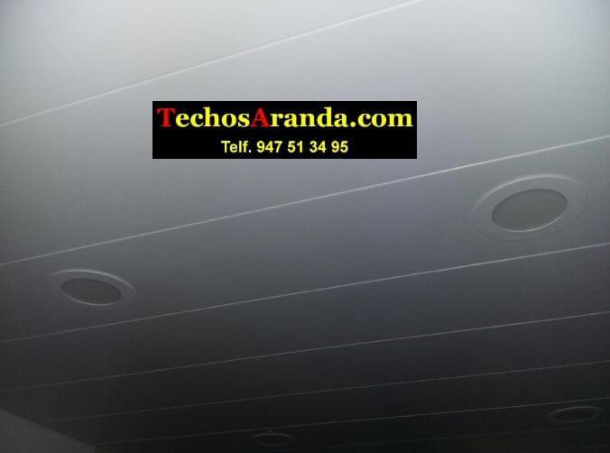 Falsos techos de aluminio para casas en Madrid
