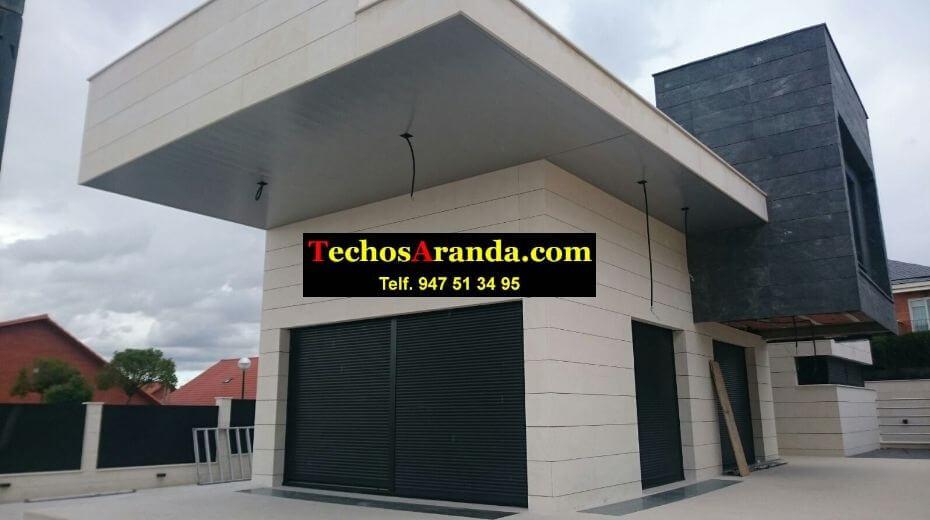 Falsos techos de aluminio para chalets en Madrid
