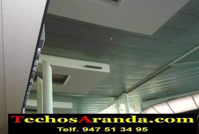 Lamas perforadas de aluminio para techos techos aranda for Lamas aluminio techo