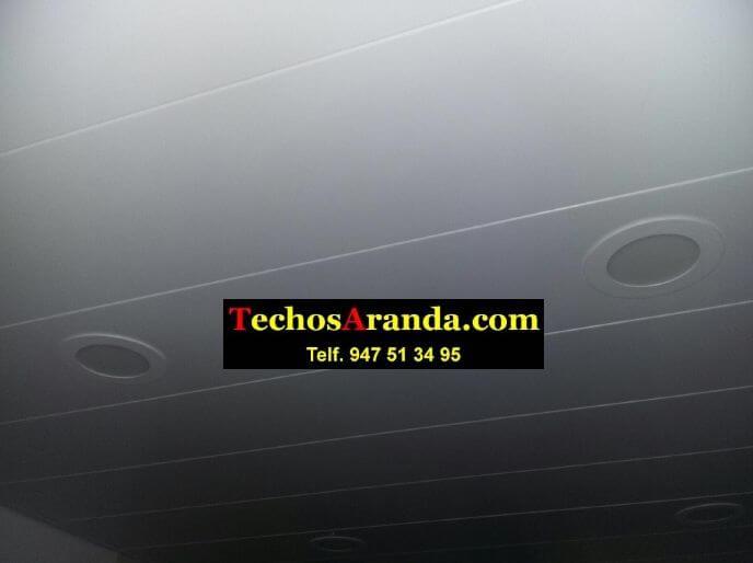 Techo de aluminio para baños en Madrid