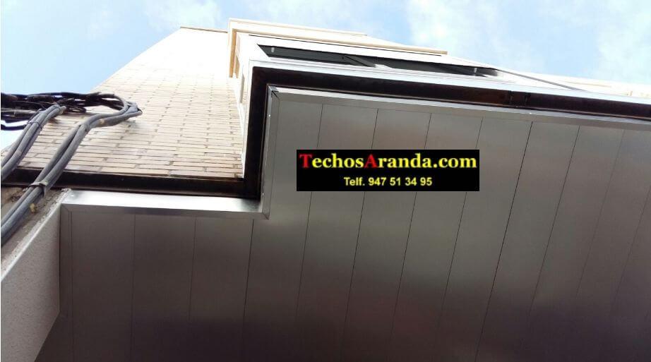 Techo de aluminio para balcones en Madrid
