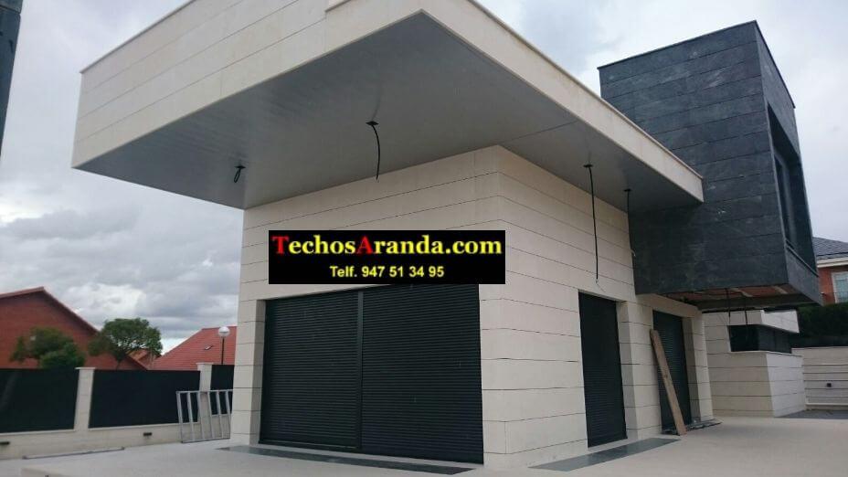 Techo de aluminio para viviendas en Madrid