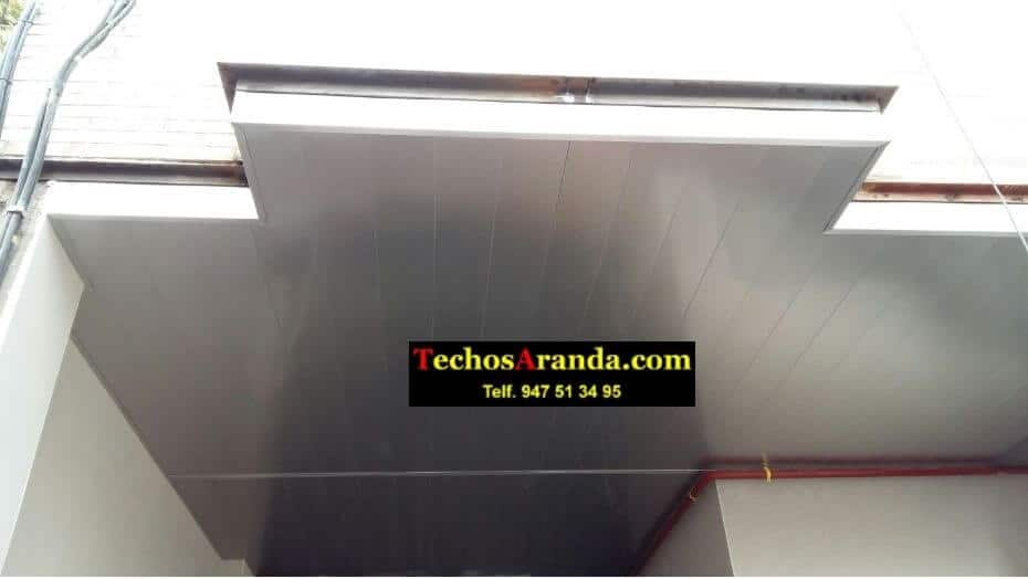 Techos aluminio balcones Madrid