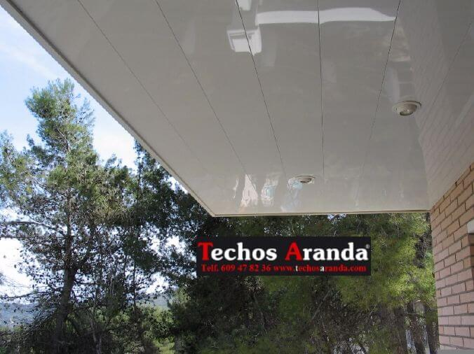 Techos aluminio chalets Madrid