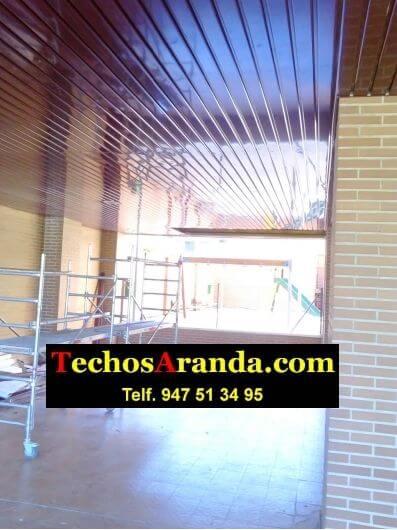 Techos aluminio patios madrid techos aranda - Techos de aluminio para patios ...