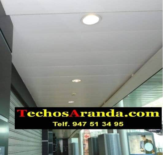 Techos de aluminio para apartamentos en Madrid