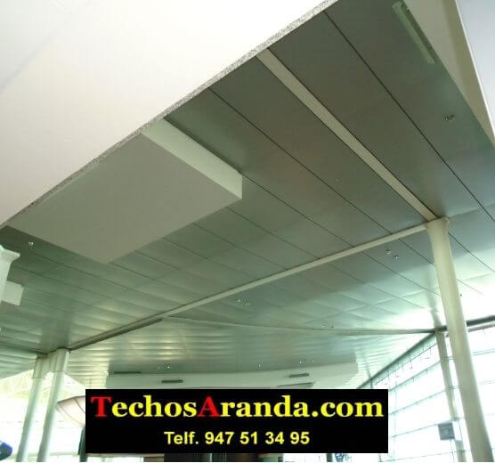 Techos de aluminio para centros comerciales