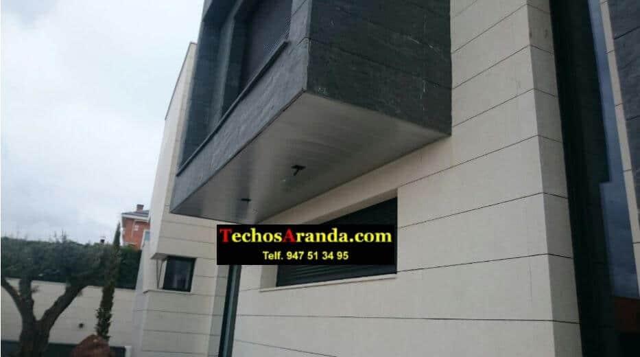 Techos de aluminio para chalets en Madrid