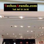 Techos de aluminio para comercios en Madrid