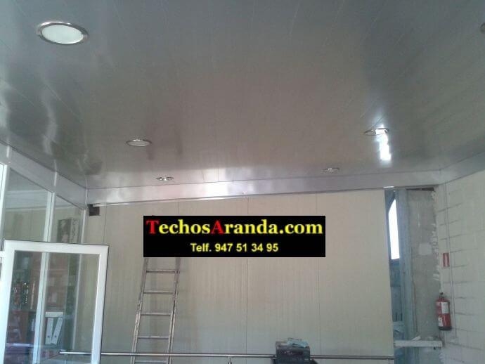 Techos de aluminio para interiores en Madrid