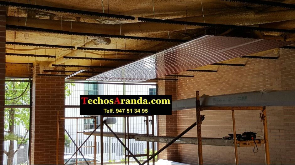 Techos de aluminio para patios en Madrid