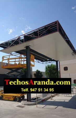 Techos de aluminio para restauración y rehabilitación de fachadas
