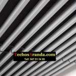 Techos metalicos para aticos en Madrid