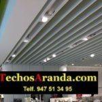 Techos para comercios en Madrid