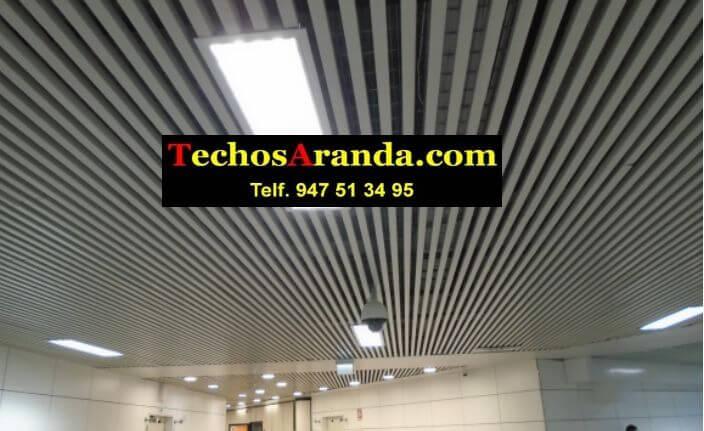 Techos registrables en Madrid