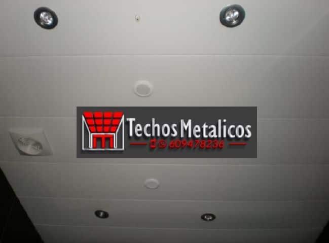 Techos de aluminio en Campo Real