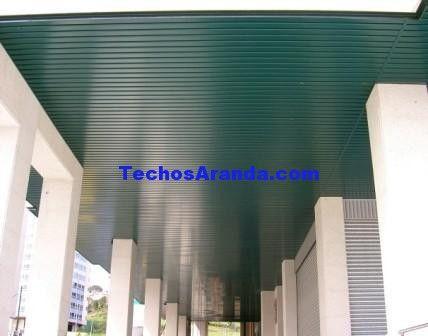 Techos de aluminio en Utebo