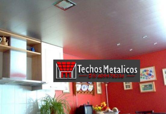 Techos de aluminio en Val de San Martín