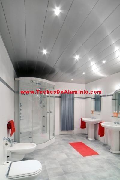Empresa fabricante de techos de aluminio para baños