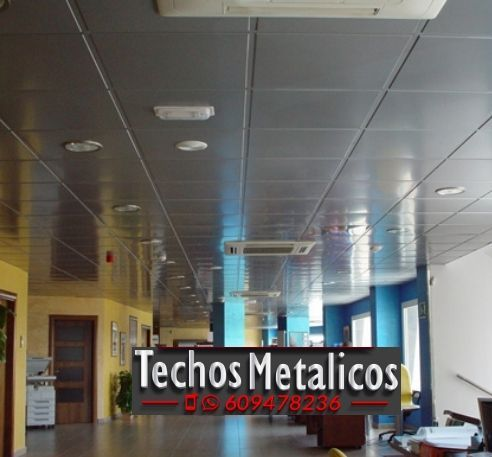 Empresa fabricante de techos de aluminio para comercios