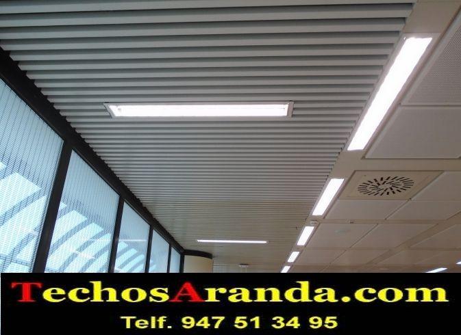 Empresa fabricante de techos de aluminio para pasillos