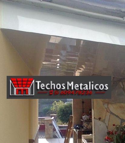 Fabricación Venta y montaje de techos de aluminio