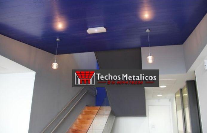 Fabricante de techos de aluminio en Madrid