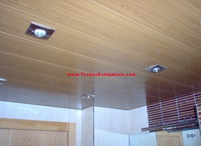 Fabricante de techos de aluminio para baños
