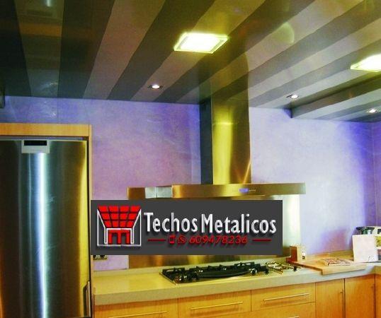 Fabricante de techos de aluminio para cocinas