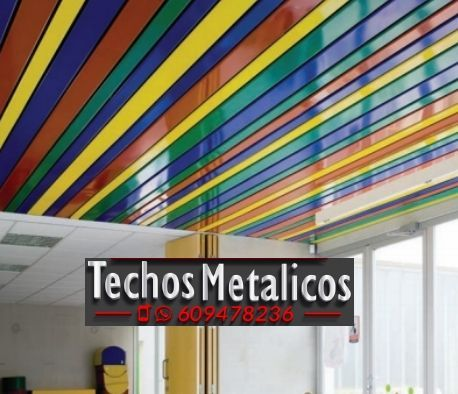 Fabricante de techos de aluminio para locales