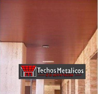 Fabricante de techos de aluminio para reformas