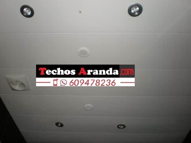 Fabricantes de falsos techos de aluminio para aseos