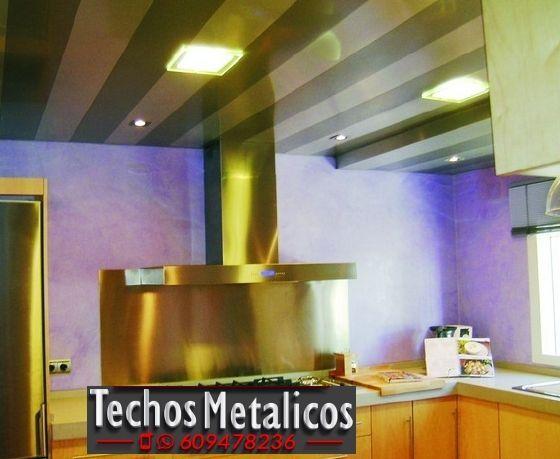 Fabricantes de falsos techos de aluminio para cocinas