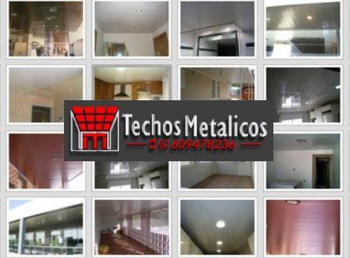 Fabricantes de falsos techos de aluminio para obra nueva