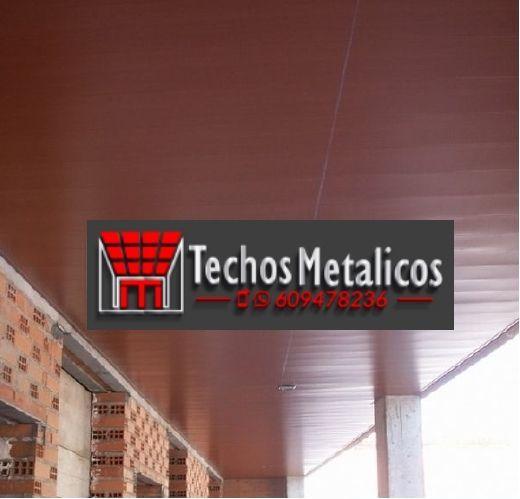 Fabricantes de techos de aluminio Alcoy