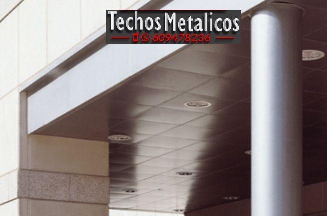 Fabricantes de techos de aluminio Denia