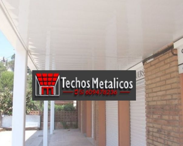 Fabricantes de techos de aluminio Estepona