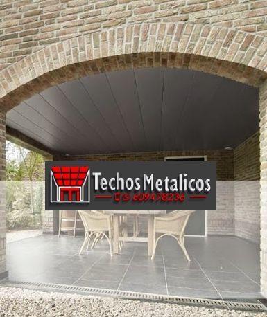 Fabricantes de techos de aluminio Figuieres