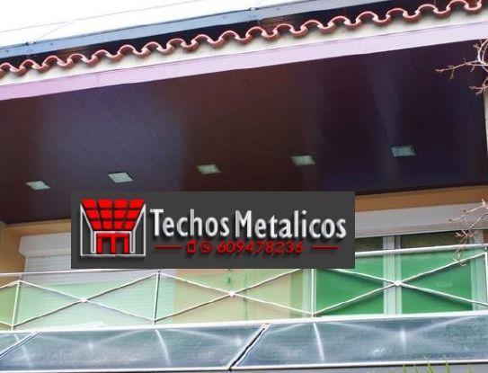 Fabricantes de techos de aluminio Mérida