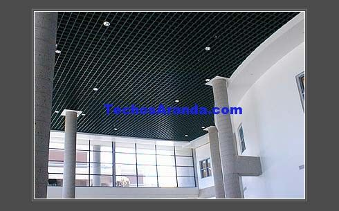 Fabricantes de techos de aluminio Mislata