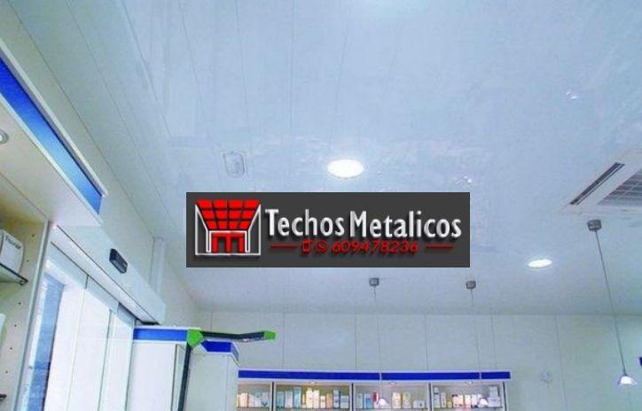 Fabricantes de techos de aluminio Pinto