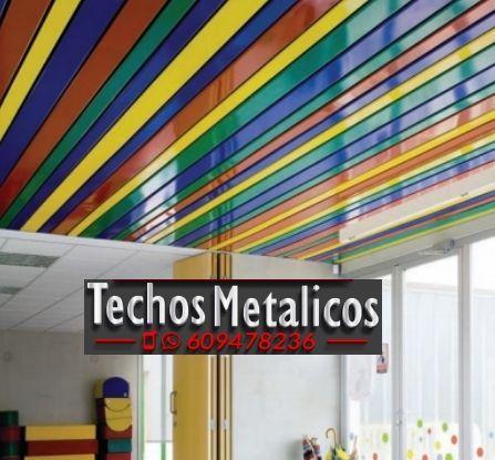 Fabricantes de techos de aluminio Rentería