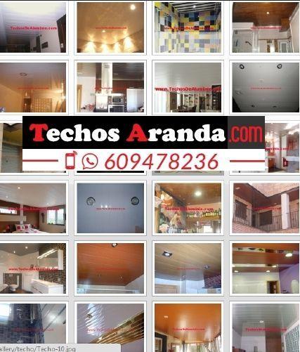 Fabricantes de techos de aluminio San Fernando De Henares
