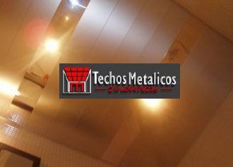 Fabricantes de techos de aluminio Segovia