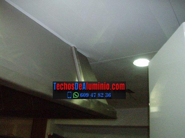 Fabricantes de techos de aluminio Zamora
