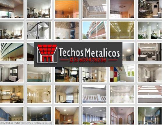 Fabricantes de techos de aluminio en Alcanar